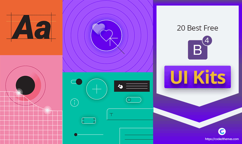 20 Best Free Bootstrap 4 UI Kits in 2019 (FREE DOWNLOAD)